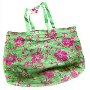 Aeropostale Beach Floral Lightweight Bag